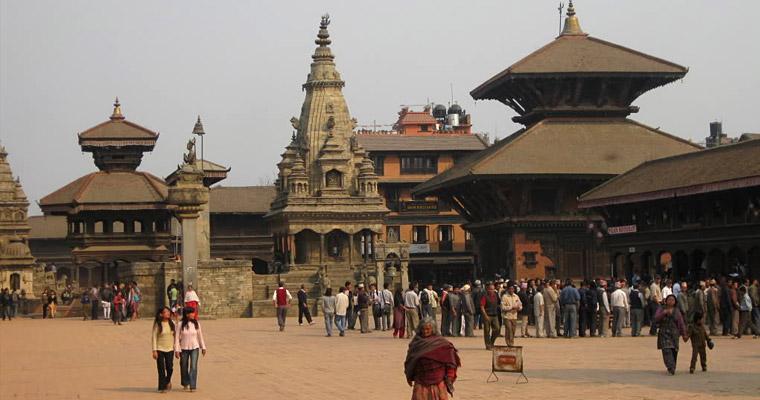 Древний город неваров на востоке долины Катманду.