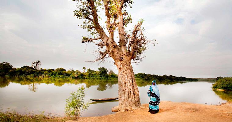Река Гамбия, Karantah, Гамбия