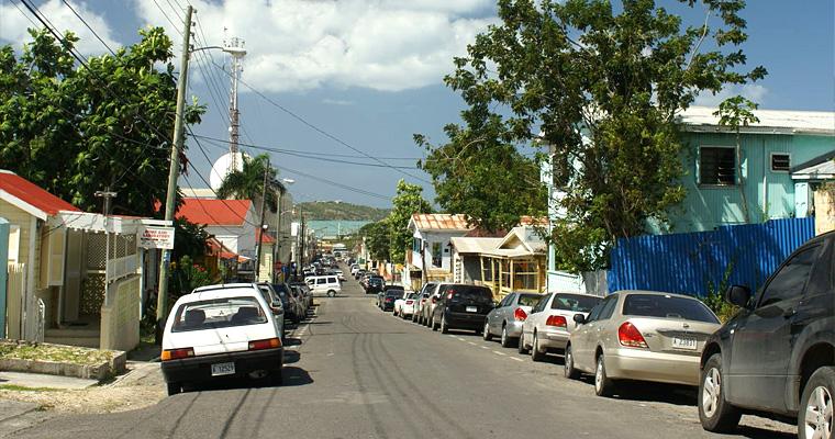 Улица Сент-Джонса, Антигуа и Барбуда