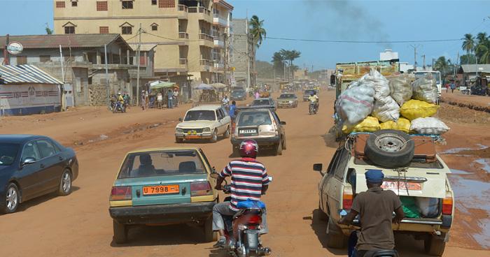 Улица в Порто-Ново, Бенин