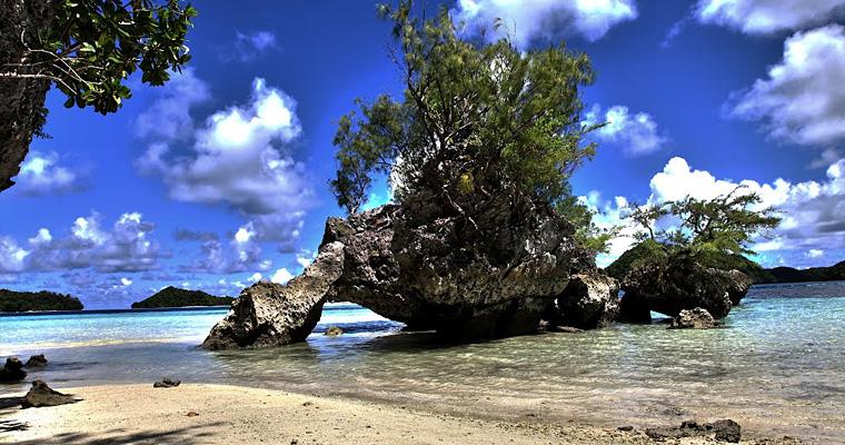 Ngermeaus Island, Палау, Микронезия