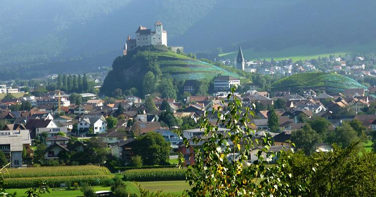 Замок Гутенберг в Бальцерсе, Лихтенштейн