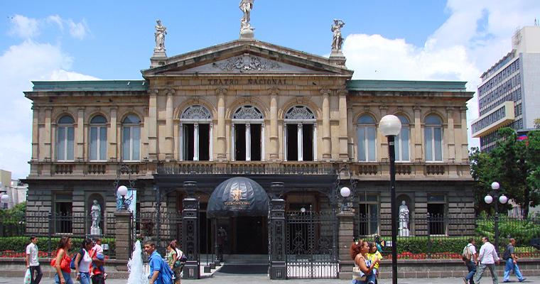 Национальный театр, Сан-Хосе, Коста-Рика