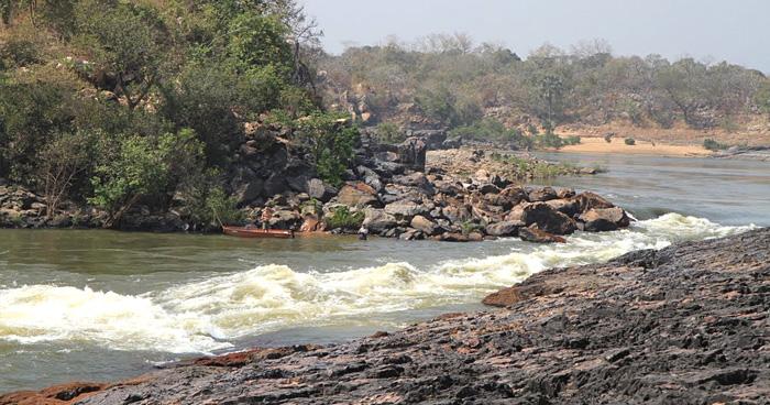Река Corubal, Гвинея-Бисау