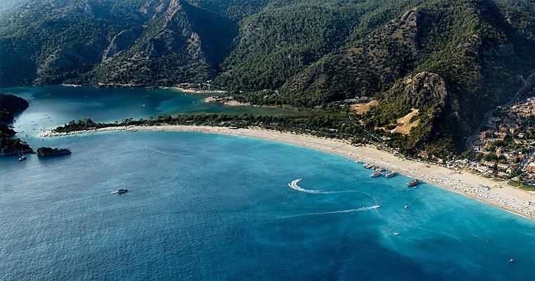 Пляж Олюдениз Фетхие, Турция