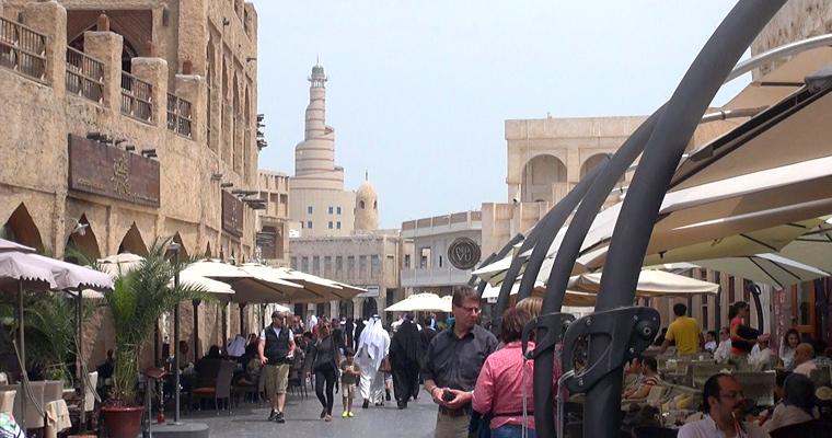 Улица, Доха, Катар