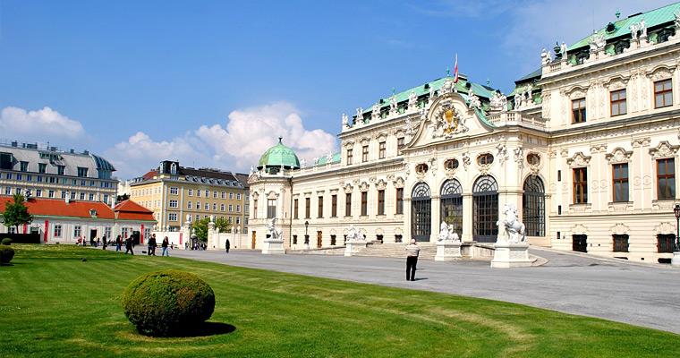 Дворец Бельведер, Вена.