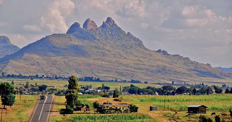 На пути к Мафетенг, Лесото