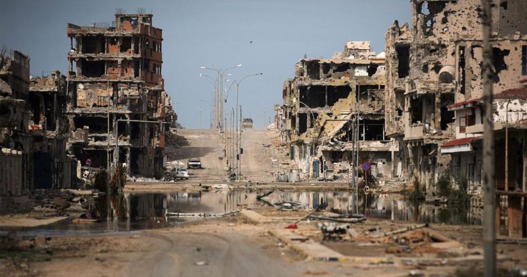 Улица в Бенгази (2014 г.), Ливия