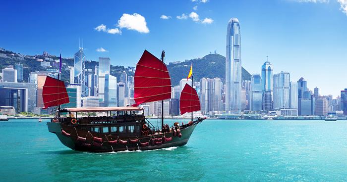 Сладкий Парусник в Гонконге