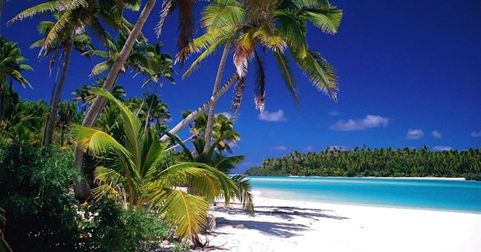 Пляж, Острова Кука