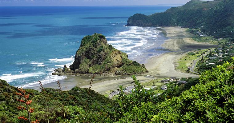 Пляж Пиха, Новая Зеландия