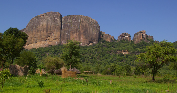 Горы возле Джубы, Южный Судан