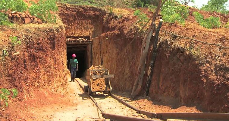 Золоторудная шахта, Зимбабве