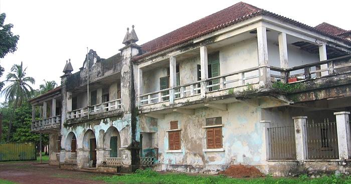 Дом Губернатора, Болама, Гвинея-Бисау