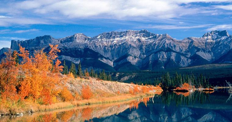 Озеро Джаспер, Национальный парк Альберта, Канада