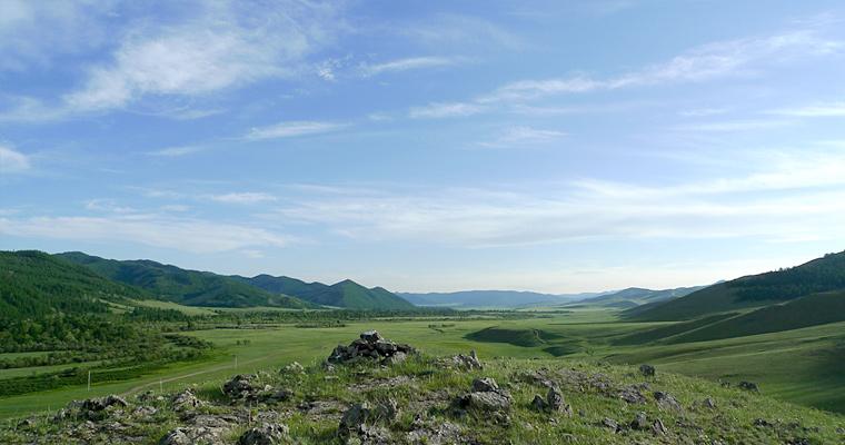 Степь, Монголия