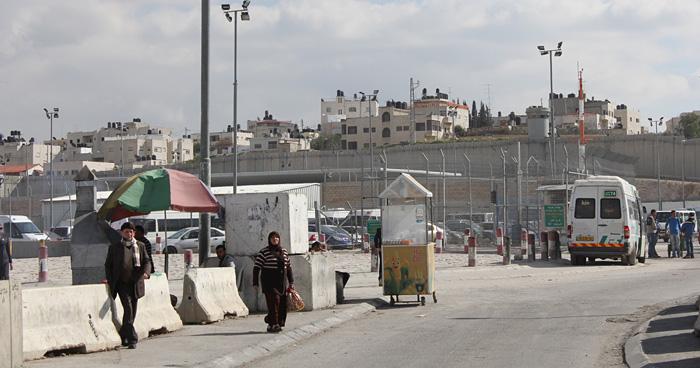 Разделительный барьер, Палестина