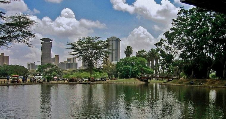 Ухуру парк, Найроби, Кения
