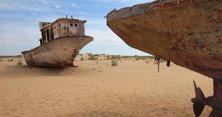 Мертвое море, Узбекистан