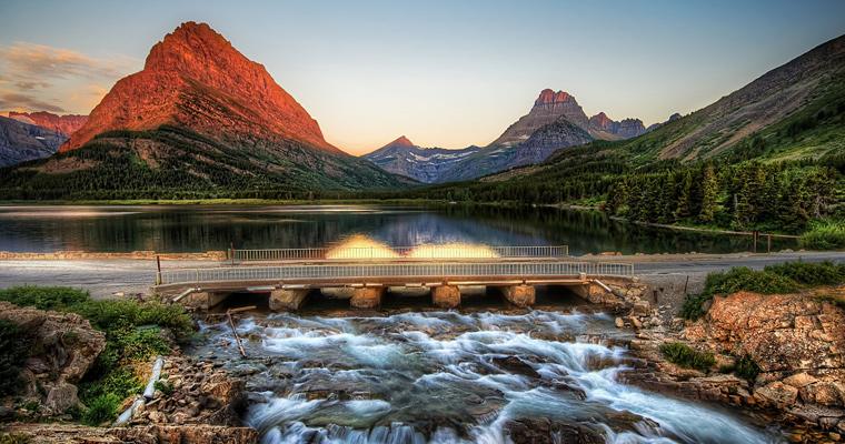 Национальный парк Glacier, Монтана, Америка