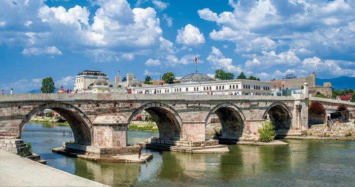 Каменный мост, Скопье, Македония