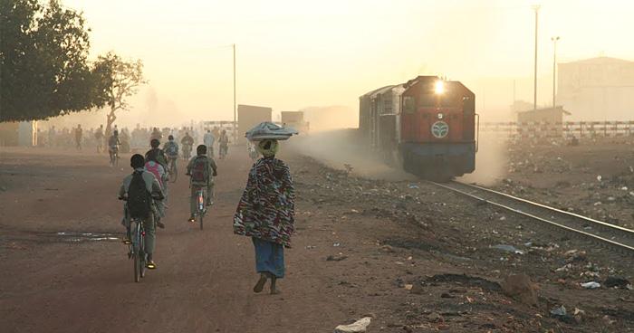 Поезд на Абиджане, Кот-д'Ивуар