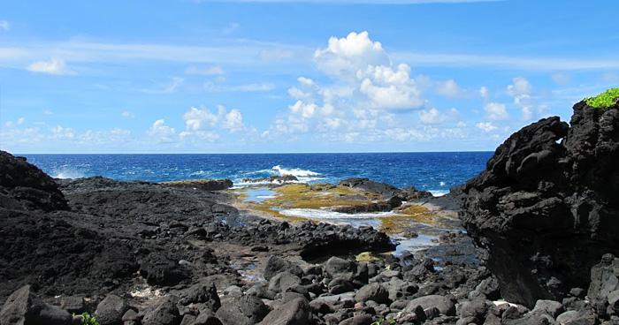 Вид на океан, Моана Сина в Паго-Паго, Самоа