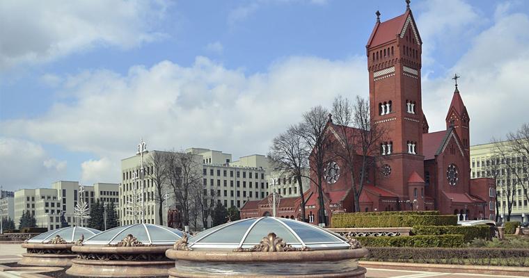 Католический собор, Минск, Беларусь