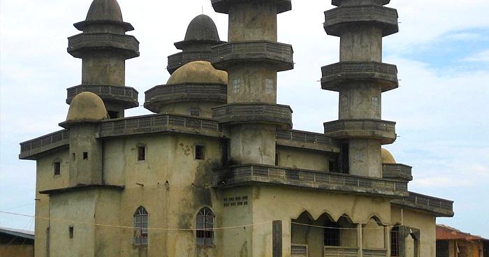 Мечеть в Salaye, Либерия