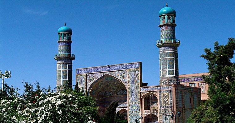 Мечеть Герат. Афганистан.