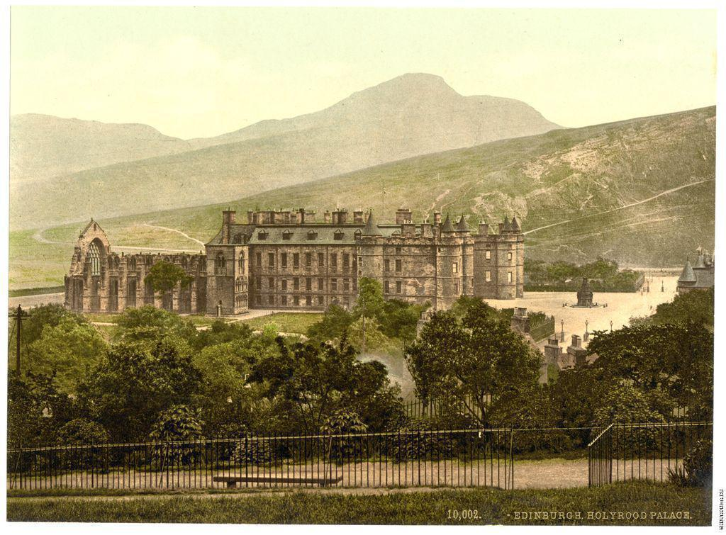 Holyrood Palace, James Valentine, 1890–1900