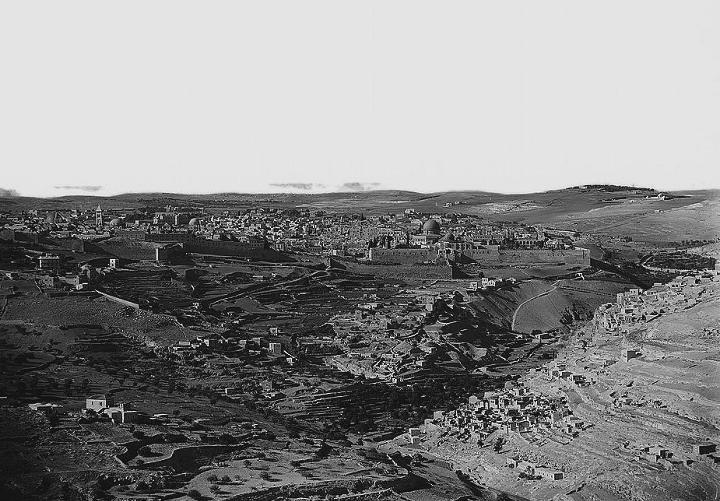 Иерусалим с юга 1898-1946