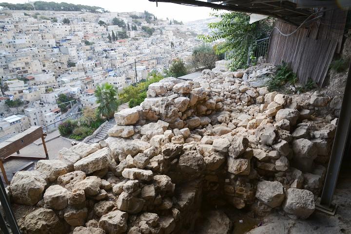 Часть дворца Давида