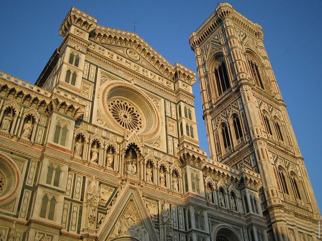 Фасад собора Санта Мария дель Фьоре
