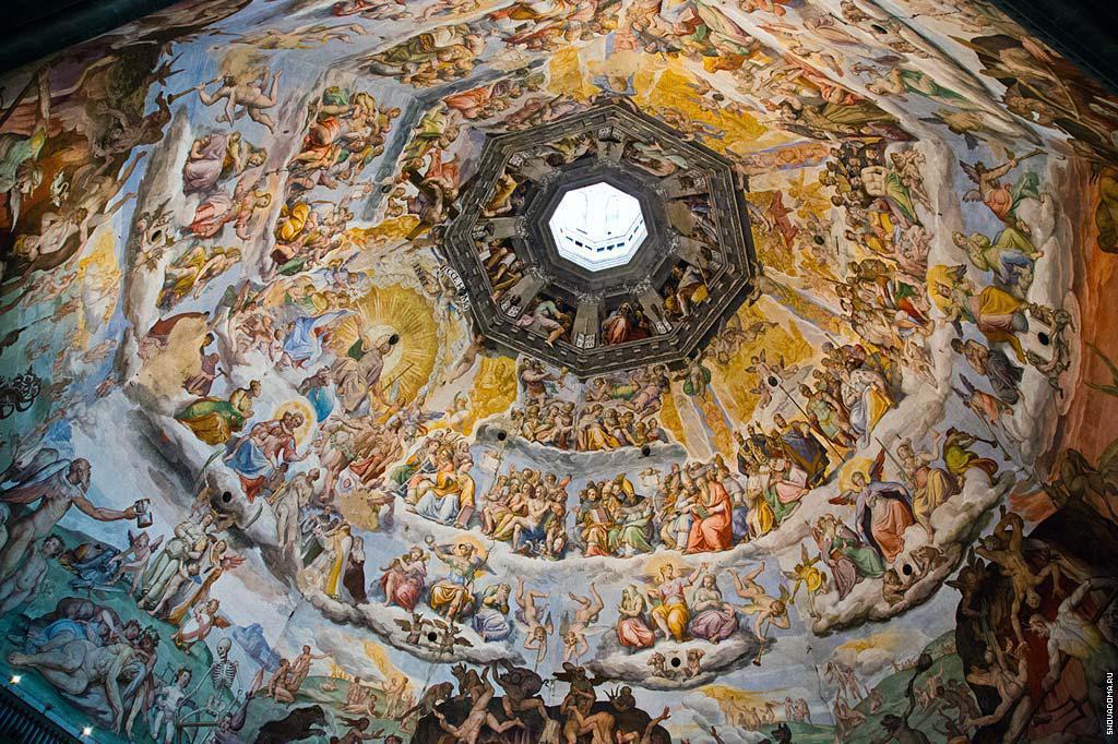 Купол Брунеллески в соборе Санта Мария дель Фьоре