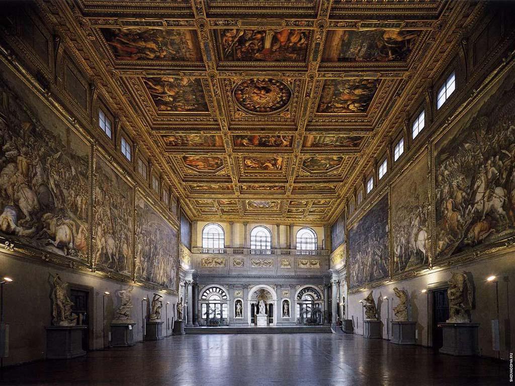 Интерьер Palazzo Vecchio