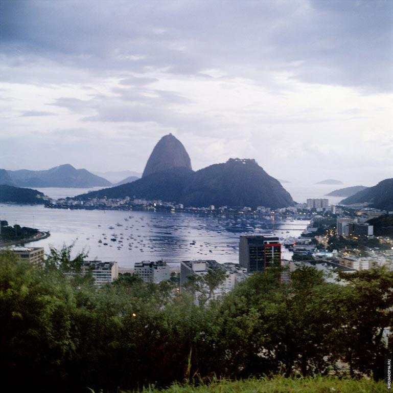 Гора Pao de Acucar.