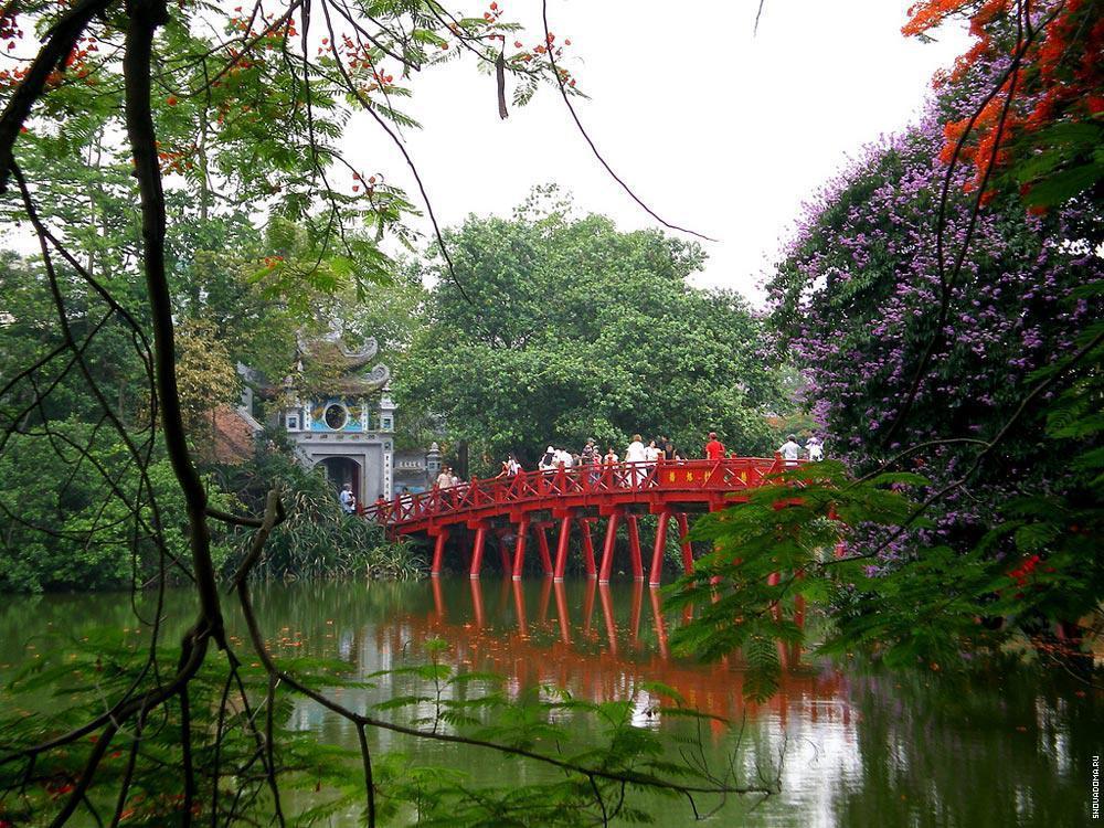 Мост через на центральный остров