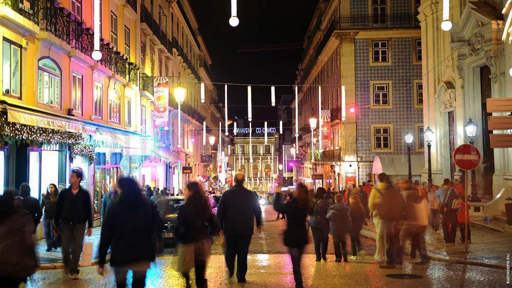 Торговые улицы, Рождественские огни