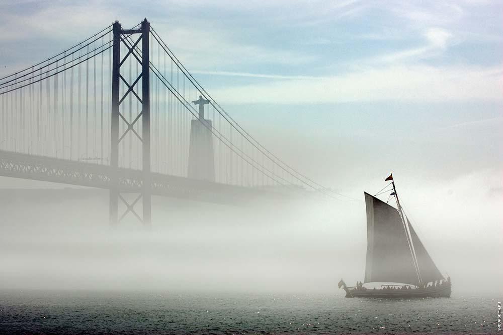 Туман над рекой Тежу