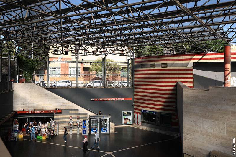 Станция метро Cipro-Musei Vaticani