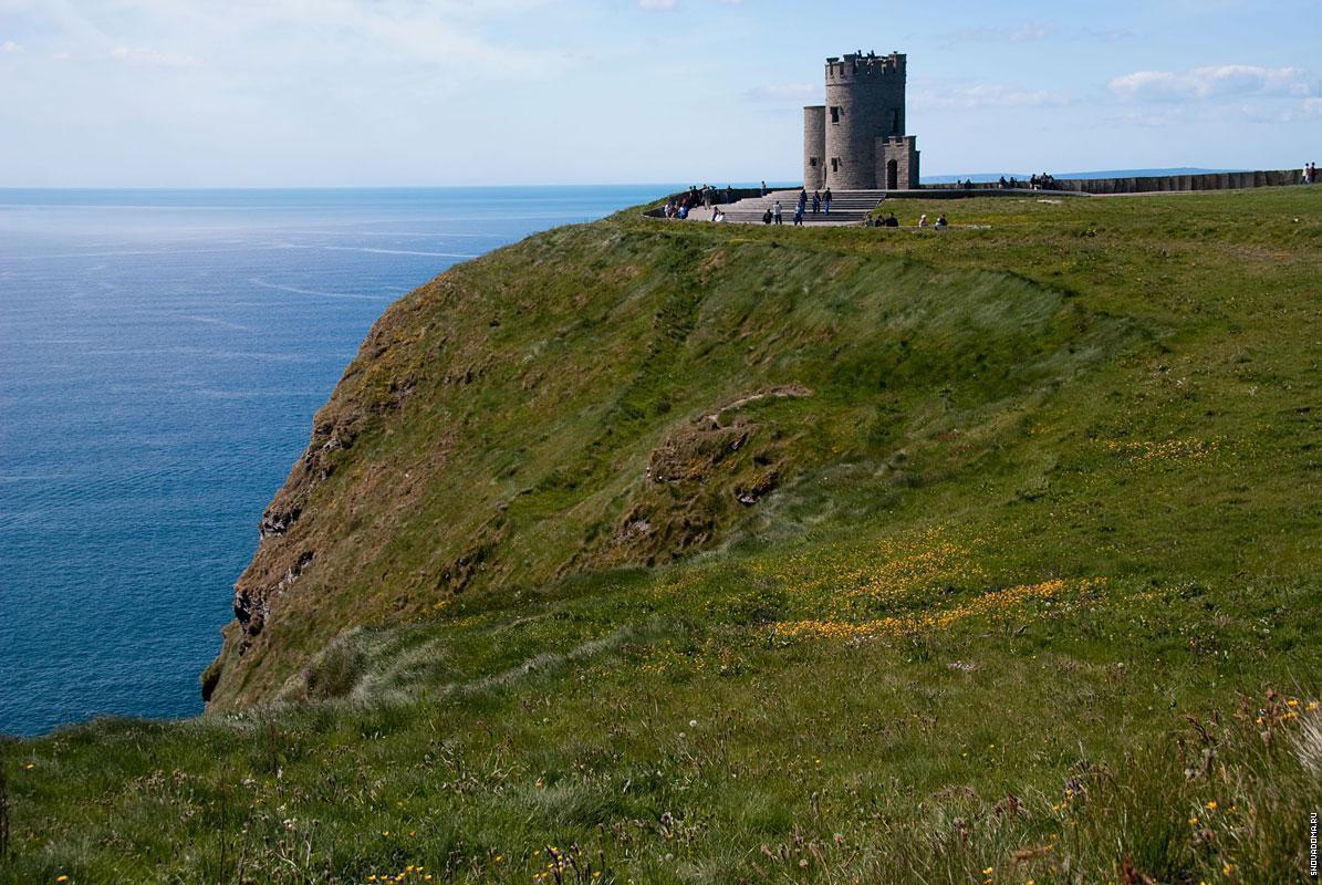 Башня О'Брайена, одна из трех смотровых площадок