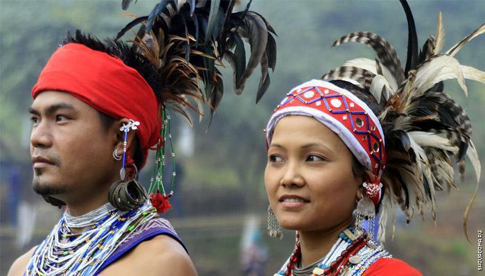 Национальные костюмы остров Андаман и Никобар