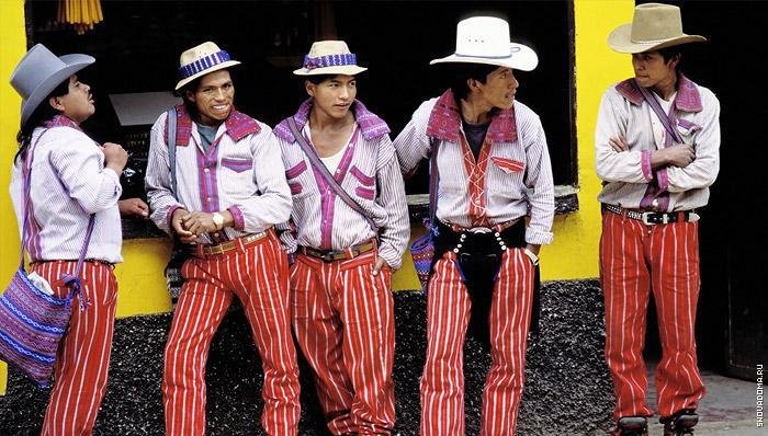 Национальные костюмы Боливии