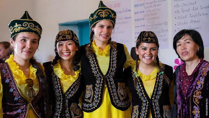 Традиционная одежда Кыргызстана