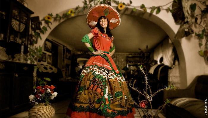 Национальные костюмы латинской Америке