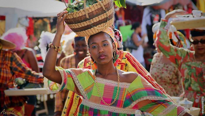 Национальные костюмы Южно-Африканской Республики
