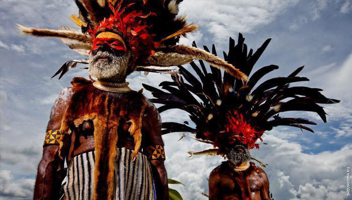 Национальные костюмы Австралийских аборигенов