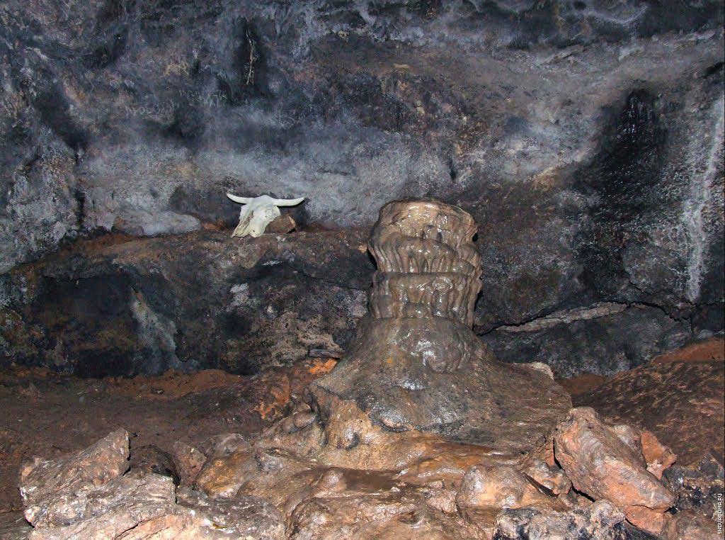 Пещера внутри